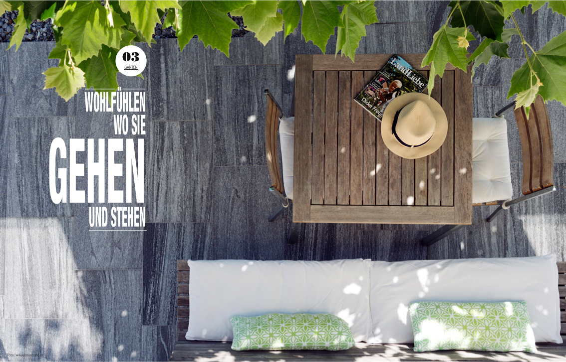 terrassen und wege im eigenen garten. Black Bedroom Furniture Sets. Home Design Ideas